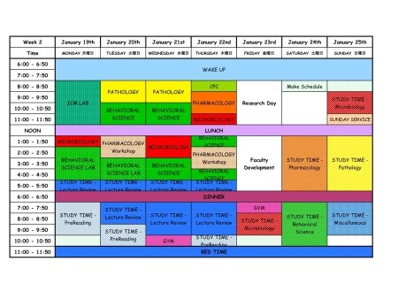 cschedule-semester3-week-2-sheet1